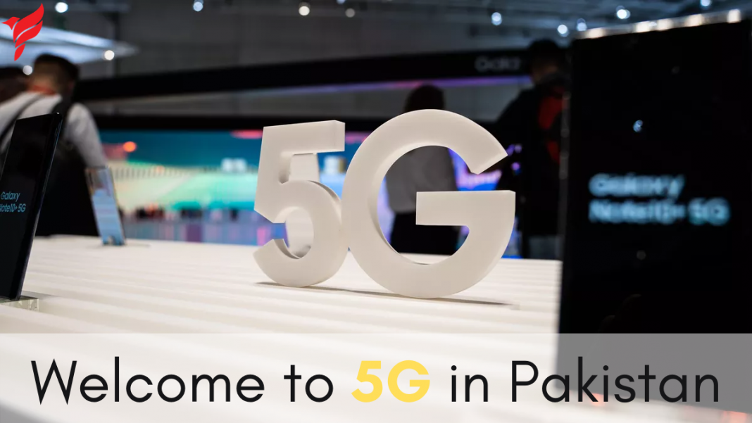 It's all about 5G technology in Pakistan.