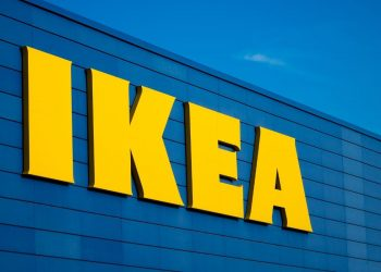 IKEA logo stock photo