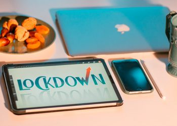 An image showing Lockdown on a tablet